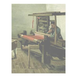 Weaver by Vincent Van Gogh Custom Flyer