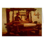 Weaver by Vincent van Gogh Note Card