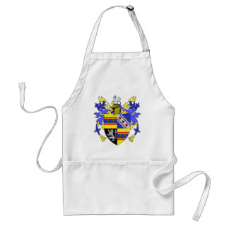 Weaver Coat of Arms Family Crest Aprons