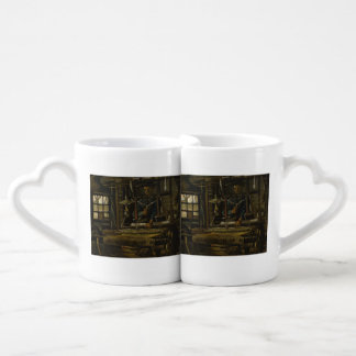 Weaver's Cottage by Vincent Van Gogh Lovers Mugs