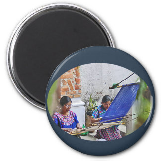 Weavers of Antigua Magnet