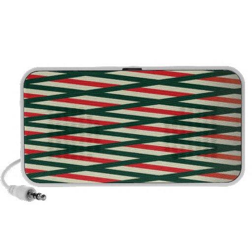 Weaving style cool design speakers
