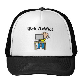 Web Addict Tshirts and Gifts Cap