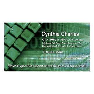 Web Design-1 Business Card template willow