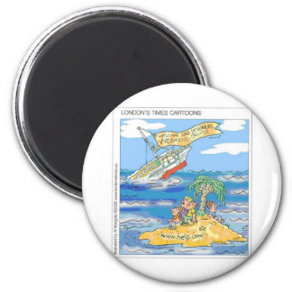 Web Designers Terror Cruise Ship Funny Gifts & Tee 6 Cm Round Magnet