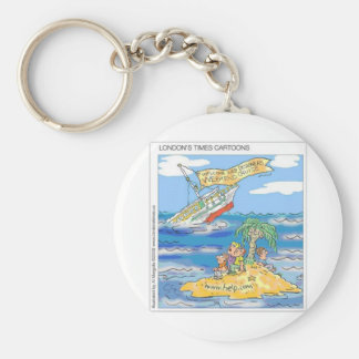 Web Designers Terror Cruise Ship Funny Gifts & Tee Basic Round Button Key Ring