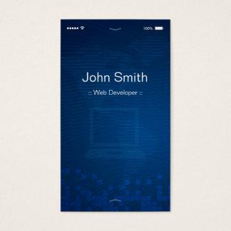 Web Developer - Apple iOS Customizable Flat Design