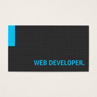 Web Developer- Multiple Purpose Blue Business Card