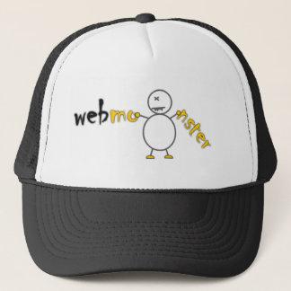 Web Monster Trucker Hat