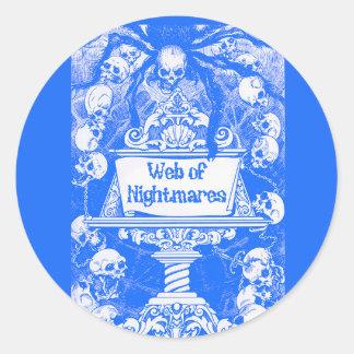 Web of Nightmares Sticker