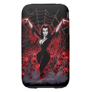 Web of Vampira Spider Lady iPhone 3 Tough Cases