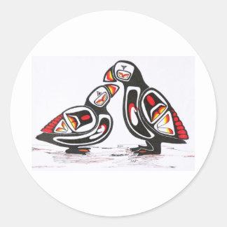 web site 041 classic round sticker