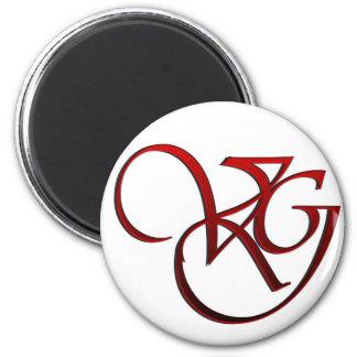 Web Valeria Gonzales Street Team Logo 6 Cm Round Magnet
