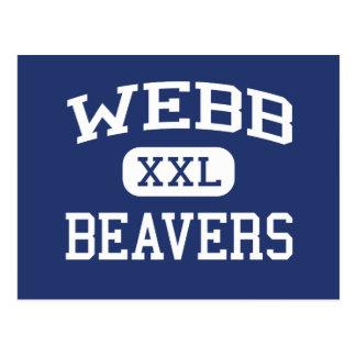 Webb - Beavers - Area - Reedsburg Wisconsin Postcard