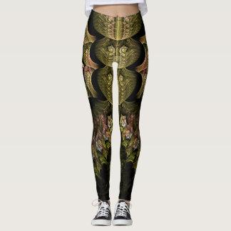 Webbed Fractal Design Leggings