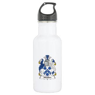 Webber Family Crest 532 Ml Water Bottle