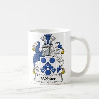 Webber Family Crest Coffee Mug