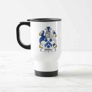 Webber Family Crest Travel Mug