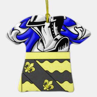 Weber Coat of Arms Christmas Tree Ornament