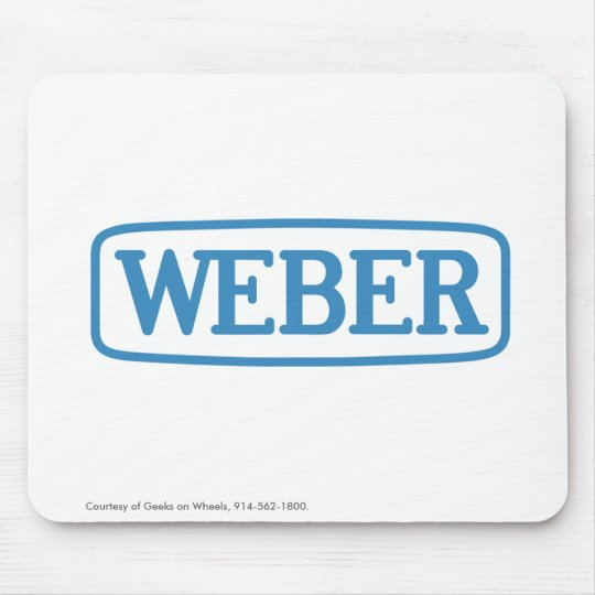 Weber Screwdriving Systems Mouse Mat