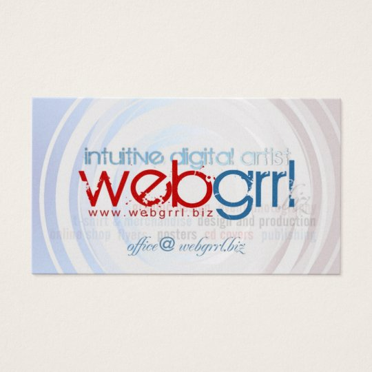 Webgrrl.biz Business Card
