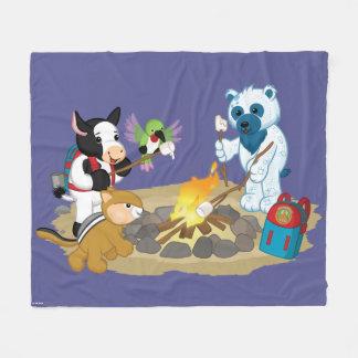 Webkinz | Campfire Marshmallows Fleece Blanket