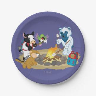 Webkinz   Campfire Marshmallows Paper Plate