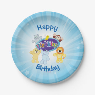 Webkinz: Come In and Play 7 Inch Paper Plate