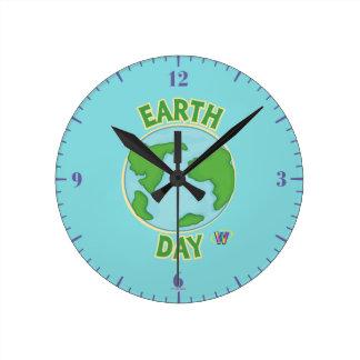 Webkinz Earth Day Round Clock