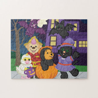 Webkinz Halloween Trick or Treat Jigsaw Puzzle