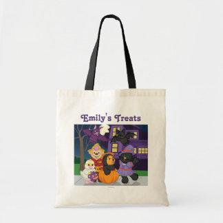 Webkinz Halloween Trick or Treat Tote Bag