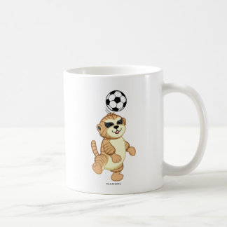 Webkinz | Meerkat Playing Soccer Coffee Mug