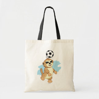 Webkinz | Meerkat Playing Soccer Tote Bag