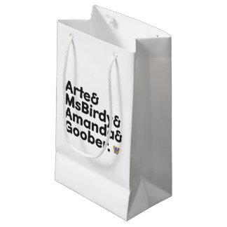 Webkinz Names Design Small Gift Bag