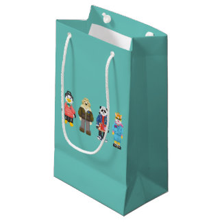 Webkinz Pixel Hosts Small Gift Bag