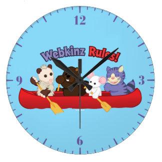 Webkinz | Webkinz Rules Canoe Trip Large Clock