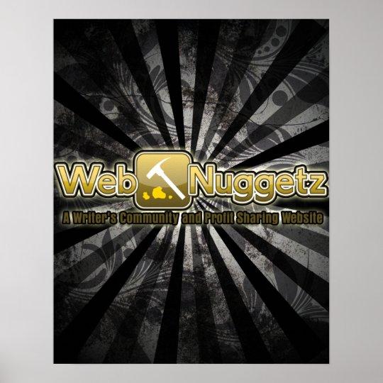 Webnuggetz Logo Poster