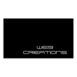 Website Creations Business Card Template