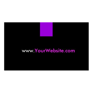 Website Promotion Advertisement - Purple Style Business Card
