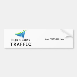 Website Traffic Bumper Sticker