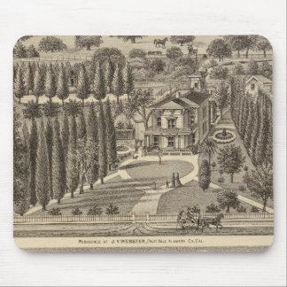 Webster, Badger residences Mouse Pad