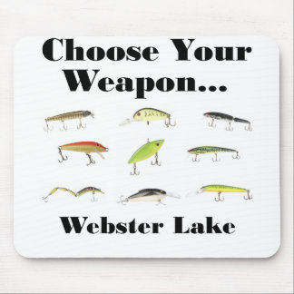 webster choose weapon mouse pads