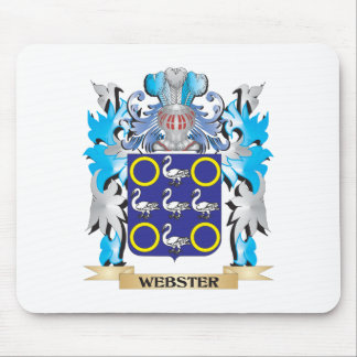 Webster Coat of Arms - Family Crest Mouse Pad