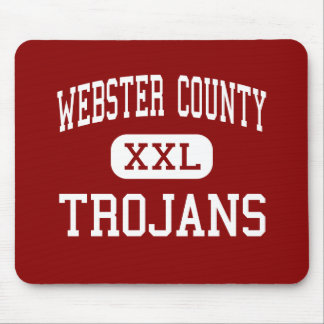 Webster County - Trojans - High - Dixon Kentucky Mouse Pad