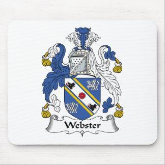 Webster Family Crest Mouse Mat