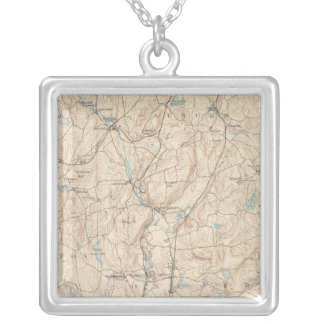 Webster, Massachusetts Silver Plated Necklace