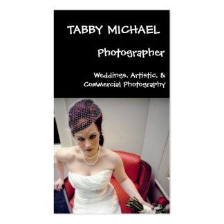 wed7, TABBY MICHAEL, Photographer, Weddings, Ar... Business Card Template