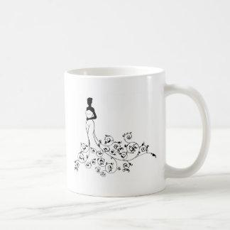Wedding Abstract Bride Silhouette Coffee Mug