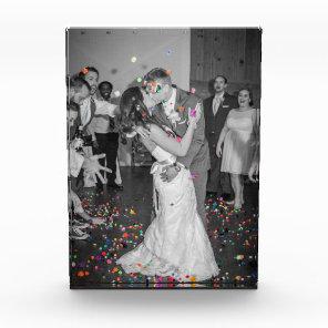 Wedding Acrylic Photo Block