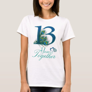 wedding anniversary / 13 / 13th / number 13 T-Shirt